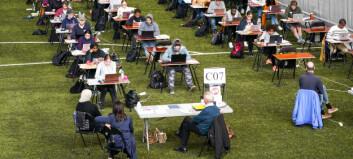 Elevrådet på Hersleb videregående sendte et brev til kunnskapsministeren om eksamen. Les det her