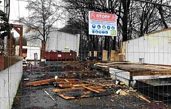 Falleferdig restaurant på toppen av St. Hanshaugen er endelig revet