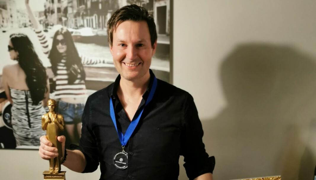 Øyvind Thorsell blir anerkjent som en god leder, et godt forbilde og et medmenneske i et tøft år.