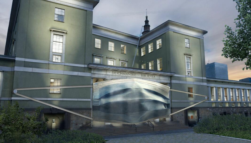 Gamle Deichmanske har vært preget av korona og en rekke arrangementer i bygget har blitt lagt på is.