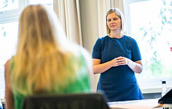 Osloskolen på rødt nivå. Nå krever kunnskapsminister Guri Melby (V) bedre tilbud: - Jeg blir litt irritert