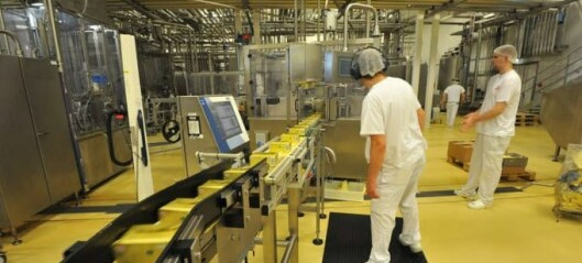 Tine-meieriet på Kalbakken rammet av korona. 500 skoler får ikke skolemelk