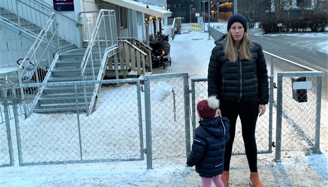 Ninja Lundby Nossen og de andre foreldrene sier de ikke er blitt hørt i saken om nedleggelse av Monolitten barnehage i bydel Frogner.