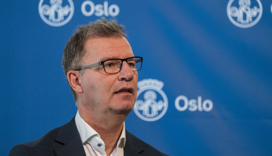 Oslo 20210123.  Helsebyråd Robert Steen  med pressekonferanse om koronasituasjonen i Oslo-området. Foto: Terje Pedersen / NTB