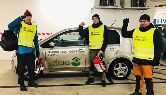 Doro Care er en av aktørene som merker konsekvensene av streiken.