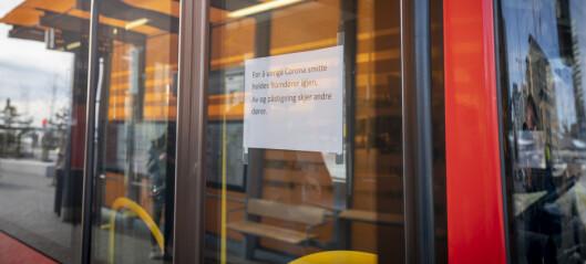 Ruter-ansatt koronasmittet – flere bussruter i Oslo innstilles