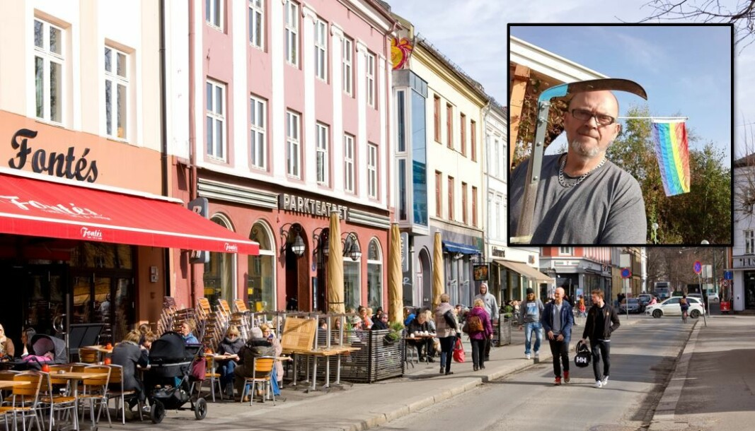 Vidar John Myklebust synes det er synd om Grünerløkka bare skal romme de som er unge og trendy.