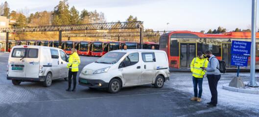Ti sjåfører koronasmittet – flere bussruter i Oslo innstilt