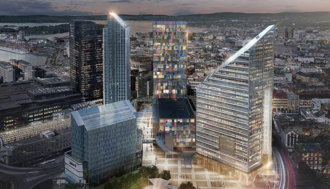 Oslos skyline kan bli drastisk forandret i fremtiden. Det er allerede klart at Oslo Plaza blir høyere. Oslo Spektrum og Lilletorget kan også få høyhus som kan måle seg med Norges høyeste hotell.