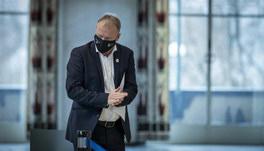 Til nå er det gjort 134 funn av mutert koronavirus i Oslo. Det bekymrer Raymond Johansen (Ap). — Det vi ser fra andre land er at vi må regne med å ha tøffe tiltak, sier byrådslederen.
