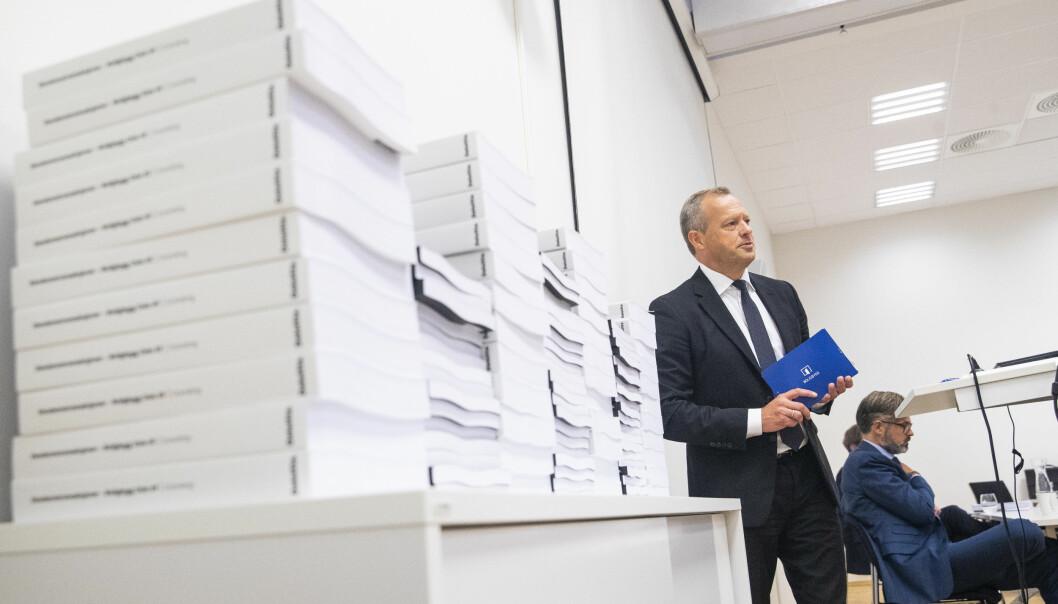Daværende styreleder Stig L. Bech omtaler granskingsrapporten om Boligbyggs eiendomstransaksjoner.