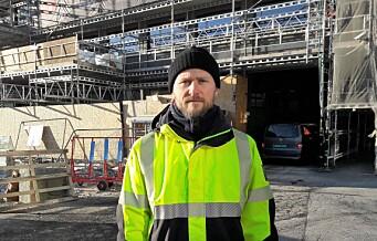 - Utenlandske arbeidere i Oslo blir sendt rett på byggeplassen i stedet for i karantene