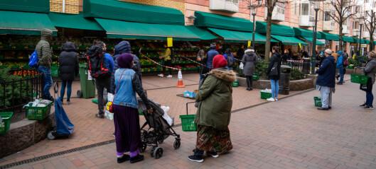 Arbeidsledigheten biter seg fast: Over 11 prosent i bydel Gamle Oslo helt eller delvis uten arbeid