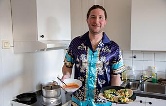 Da komfyren datt fra hverandre, startet ett år med stormkjøkken midt i tjukkeste Oslo