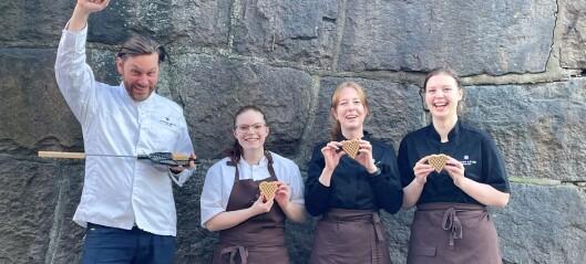 Konditor på Briskeby lager landets beste søtsak