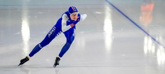 Ragne Wiklund var to fattige sekunder fra VM-gull på 3000m. – Planen var å gå all in fra start, sa Wiklund etter løpet