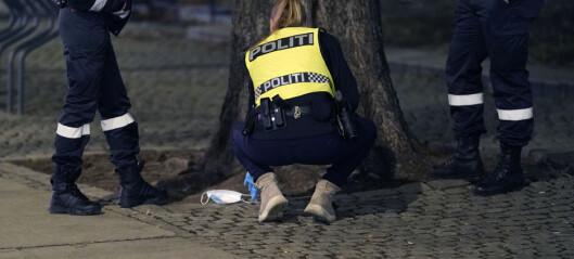 Tre menn pågrepet etter vold på Karl Johan