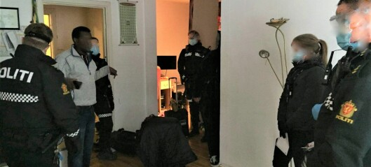 Bevæpnet politi kastet Mohamed og familien ut av den kommunale leiligheten på Tøyen