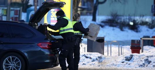 Ung mann skadet med skarp gjenstand ved Stovner senter. En person er pågrepet