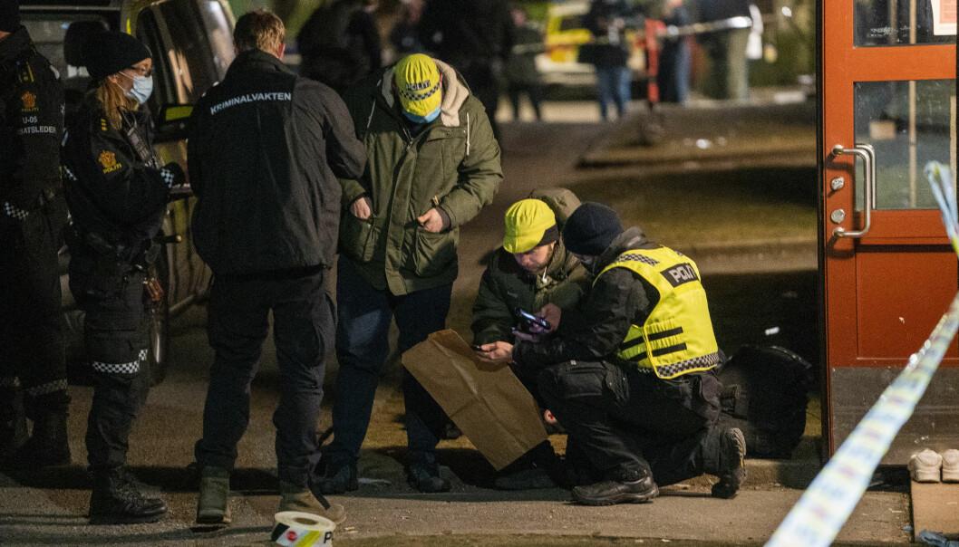 En person ble skutt på Bjølsen i Oslo lørdag kveld.