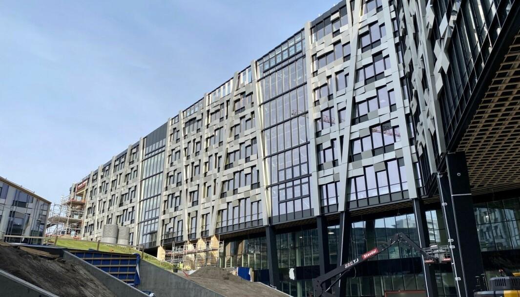 Økern portal, tegnet av Dark arkitekter, blir trukket fram som et bra bygg i kommentarfeltet under kommunens reklame for Oslo bys arkitekturpris.