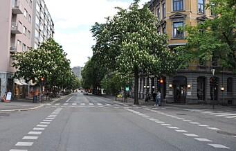 Elsparkesyklist kjørte ned og skadet kvinne (68) i Bygdøy allé. Må 18 dager i fengsel og fratas førerkortet