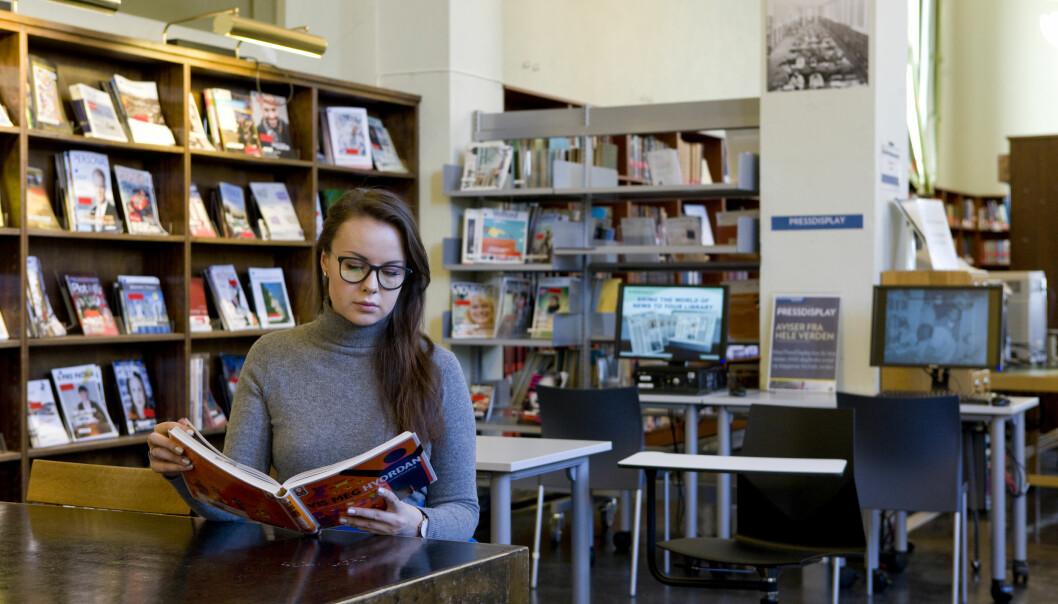 Stengte lesesaler har skapt frustrasjon for mange studenter.