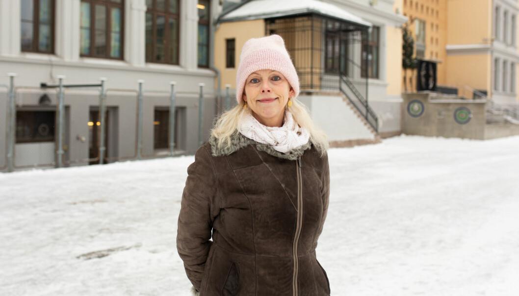Rektor Hanne Hauge ved Kampen skole erkjenner at den store utskiftingen av lærere er negativt for barna ved skolen.