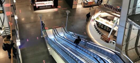 Handelsstanden skuffet over fortsatt kjøpesenterstenging i Oslo
