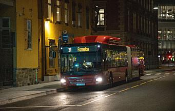 Koronautbrudd ved bussanlegg rammer linje 25, 30, 31, 31E, 32 og 81