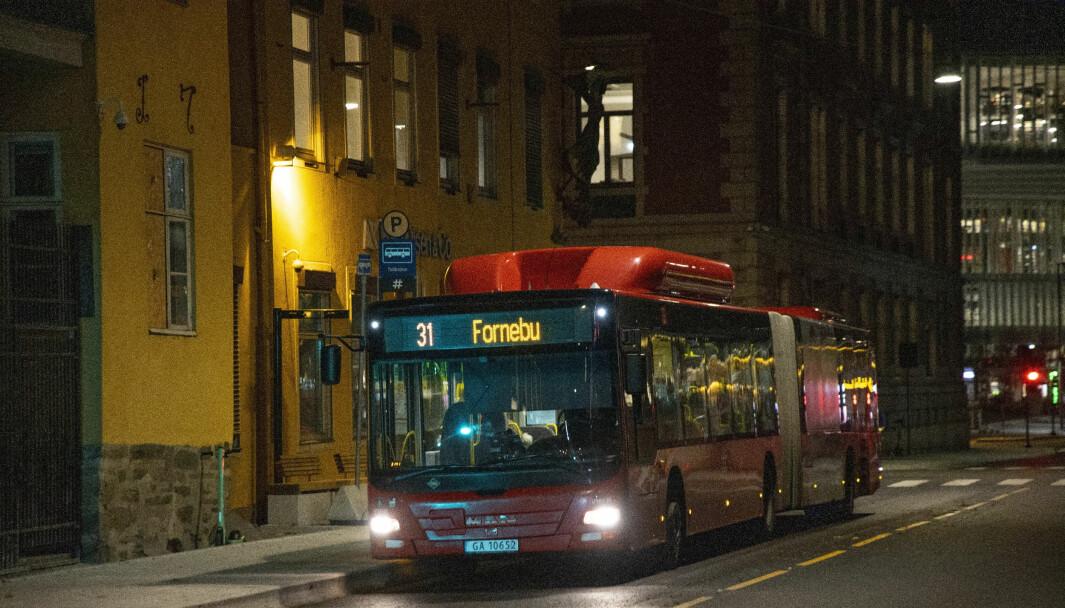 LInje 31 er blant bussene som er blitt rammet av koronautbruddet på Grorud.