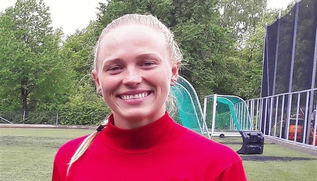 Damelagets kaptein Helene Marjavara Inselseth håper pengene kan brukes til framtidige skeidspillere på alle nivåer