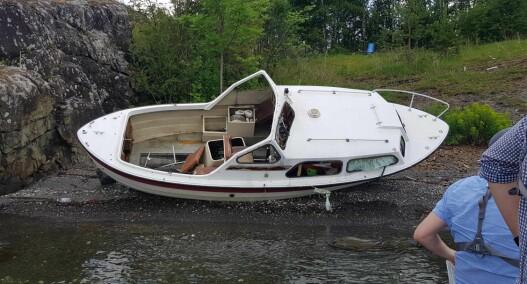 Samlet inn 260 tonn med havarerte båter på fem måneder - bare i indre Oslofjord