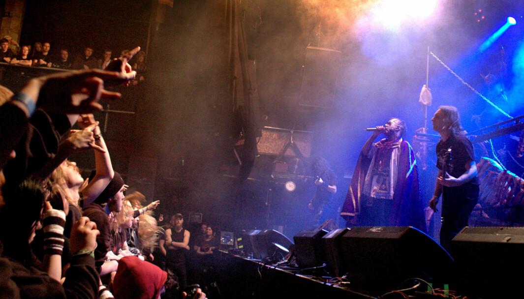 Mayhem på Infernofestivalen i 2010. Elleve år etter er årets utgave avlyst.