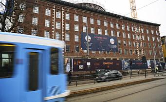 32 smittet på byggeplass tilknyttet nytt Stordalen-hotell ved Solli plass