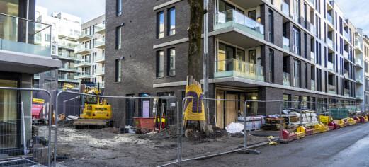 Smitteutbrudd på byggeplassen til Mills-kvartalet ved Sofienbergparken – 18 bekreftet smittet