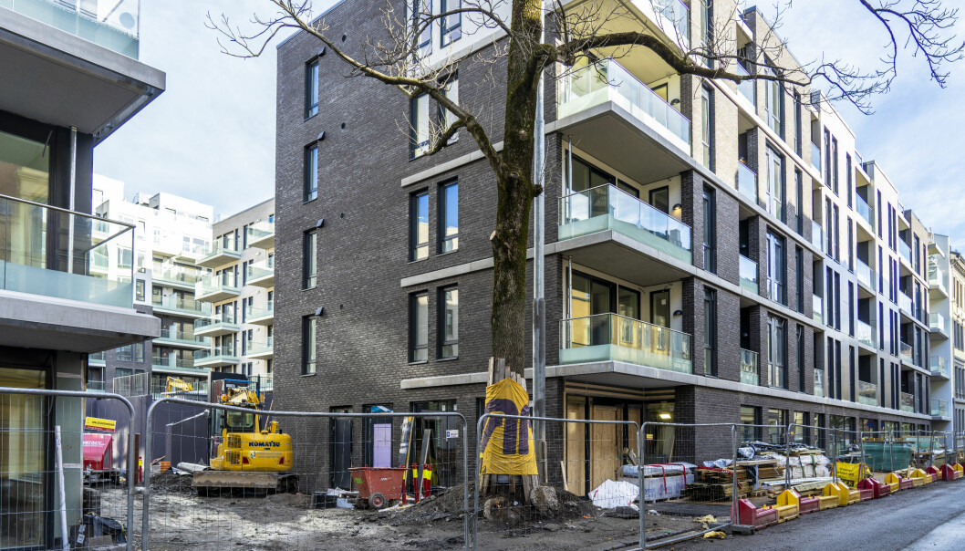 Byggeprosjektet ligger i Sofienberggaten 21-23, og utbyggeren er AF-gruppen. De 149 nye leilighetene ved Sofienbergparken skal stå klare i år.