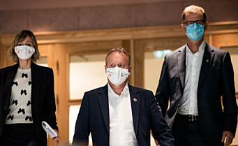 Oslo presenterer nye smitteverntiltak allerede søndag