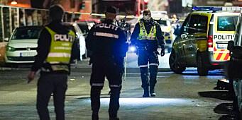 Politiet etterforsker skyting på Tøyen i natt. Har gjort funn ved Hersleb som tyder på skudd
