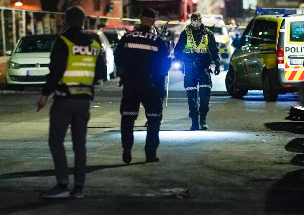 — Vi vet ikke hva slags våpen som er brukt eller hvem eller hva skuddene var rettet mot, sier politiets operasjonsleder Tor Gulbrandsen.
