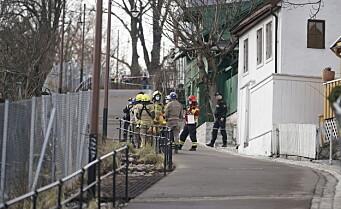 Boliger evakuert etter jordskred i Telhusbakken: - Ikke mistanke om at noen er tatt i skredet