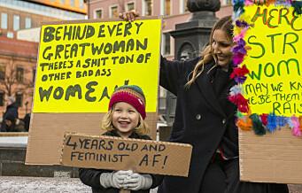 Ingen 8. mars-tog i Oslo i år. I stedet blir det en digital markering