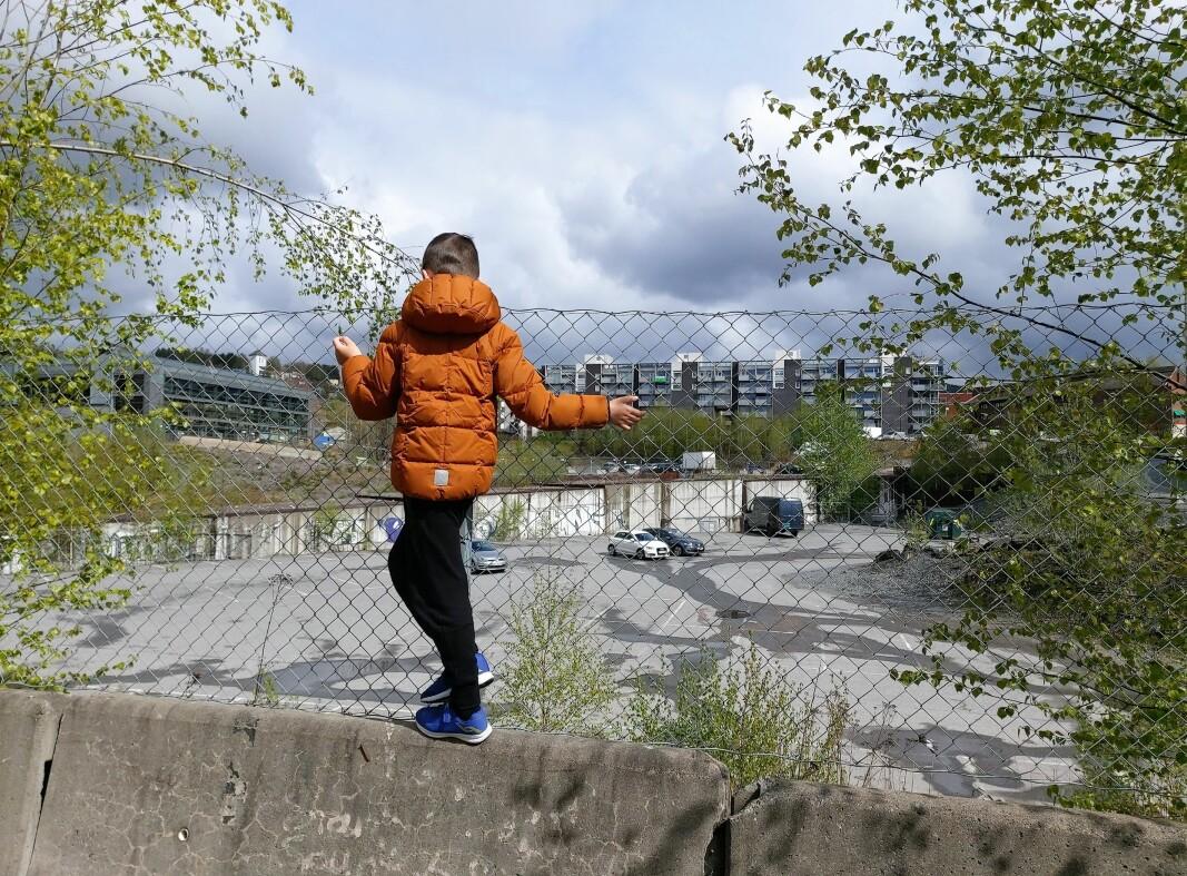 Her ville Avantor lage midlertidig BMX bane. Skoler, park og lekeområder må på plass tidlig i utbyggingsfasen, ikke etter - for da er en hel barndom over.