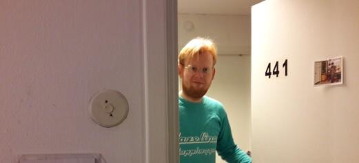 Thorleif fra Prosjekt kollektiv gleder seg til å invitere naboene sine på sykehjemmet igjen
