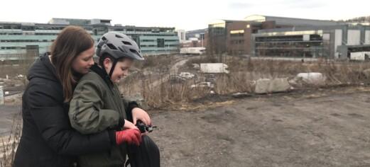 Familien Frøland flytter etter 12 år med uforutsigbarhet og brutte løfter i Nydalen