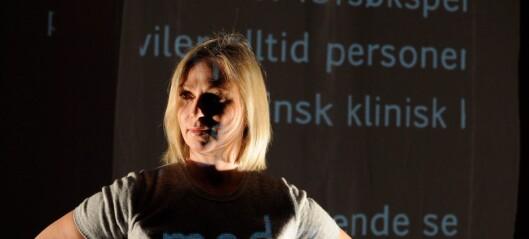 Sterke reaksjoner på at hørende Janne Langaas blir sjef for døves teater på Grünerløkka