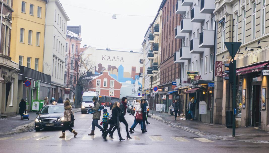 St. Hanshaugen er et svært populært område for folk å slå seg ned i.