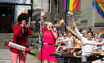 Vil kåre årets Oslo Pride-låt. Kanskje blir det låta di...