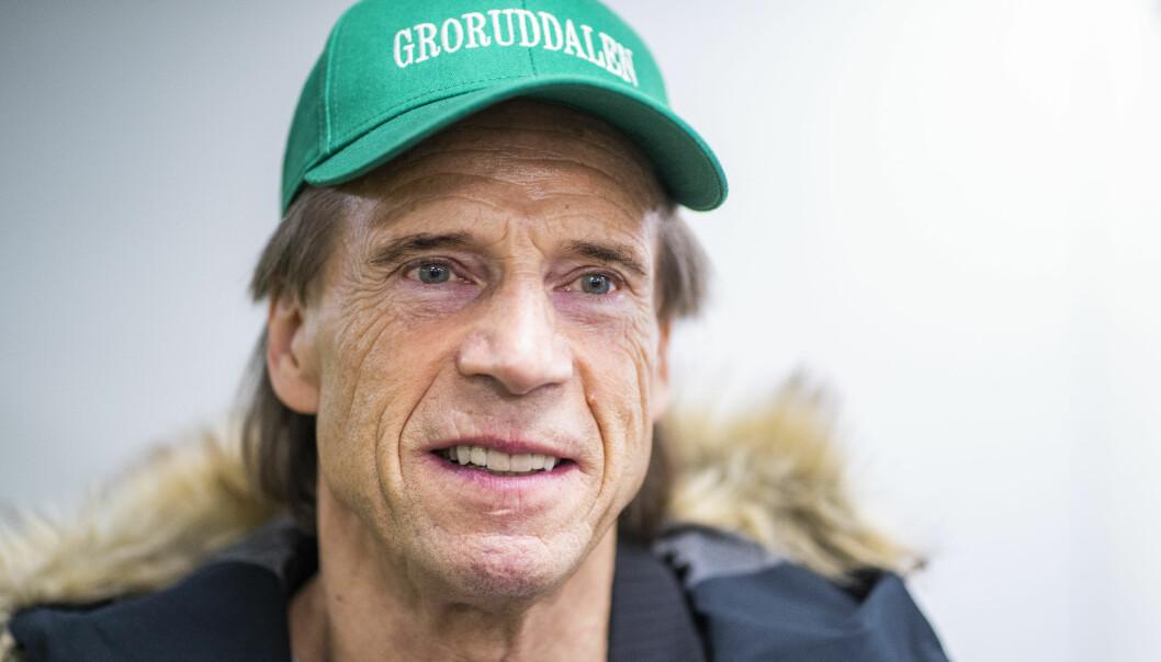 Jan Bøhler under Oslo Senterpartis nominasjonsmøte.