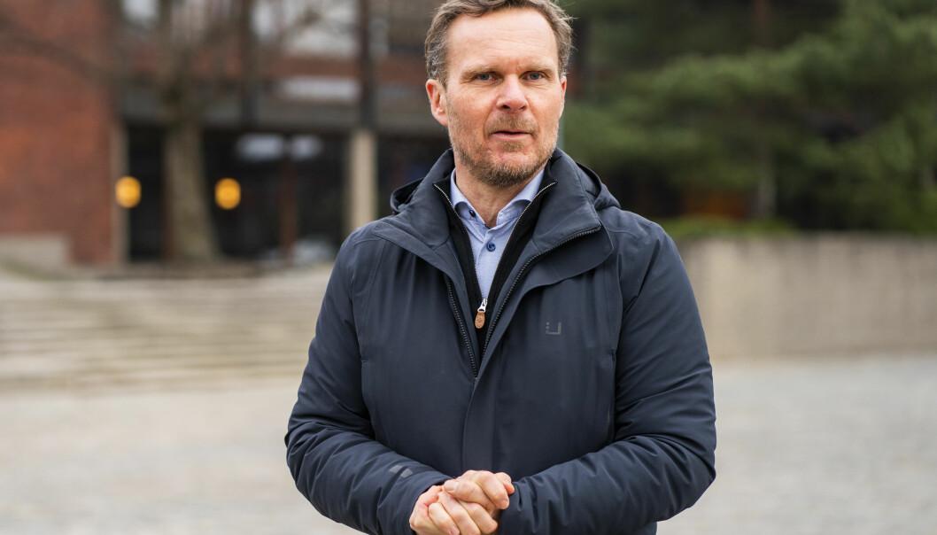 Direktør for helsetjenesten ved Studentsamskipnaden i Oslo, Trond Morten Trondsen, var til stede når helsetjenesten ved Studentsamskipnaden i Oslo åpnet et nytt korona-testtilbud på Universitetet i Oslo.